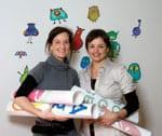 Fiona Gathercole and Jen Manz of TheWallStickerCompany.com.au