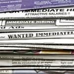 Job Ads August unemployment