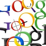 Collage of Google logo