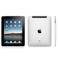 Apple iPad 2 front and rear view