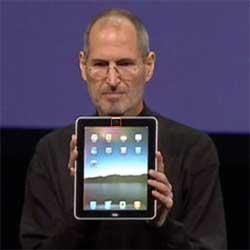 Steve Jobs Apple CEO launches the iPad 2