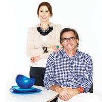 Dinosaur Designs founders, Louise Olsen and Stephen Ormandy