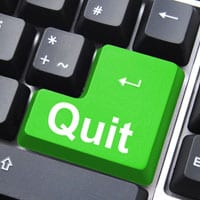 Quit button on keyboard