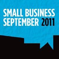 Small Business September logo