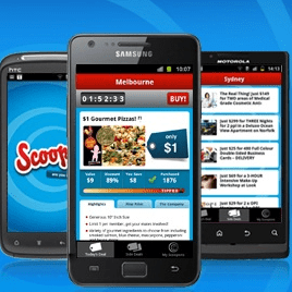 Scoopon Android app