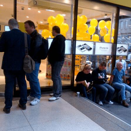 Optus iPhone 4 launch Sydney
