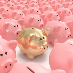 business piggy banks