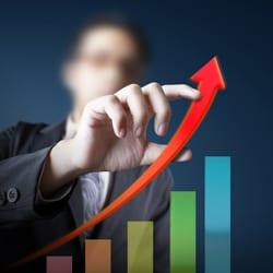 rising profit graph