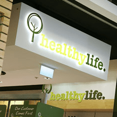 Healthzone store in administration