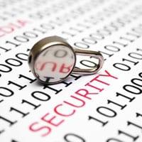 Online security padlock