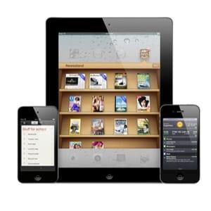 Apple iPad, iPhone, iPod touch