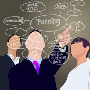 sales team making decisions