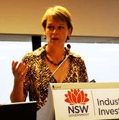 Katrina Hodgkinson NSW Minister for Small Business