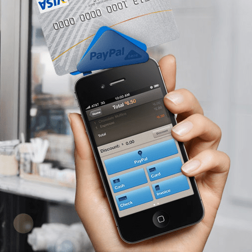 PayPal Here smartphone payments