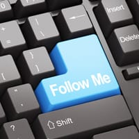 follow me button on keyboard