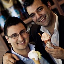 Gelatissmo founders, Domenico and Marco Lopresti
