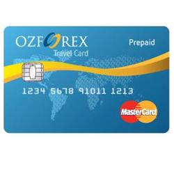 OzForex prepaid travel card