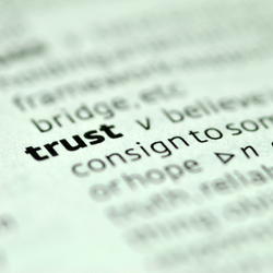 """""""Trust"""" definition in dictionary"""