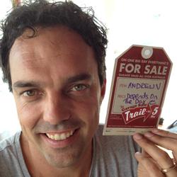 Andrew Valder - Garage Sale Trail founder