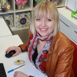 Kelly Baker-Jamieson - Edible Blooms founder