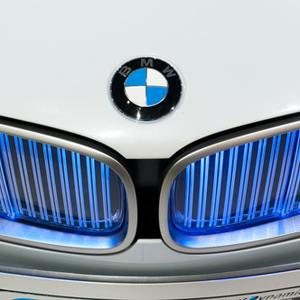 BMW car hood