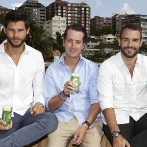 C Coconut founders: Julian Tobias, Adam Abrams, Zac Jex.