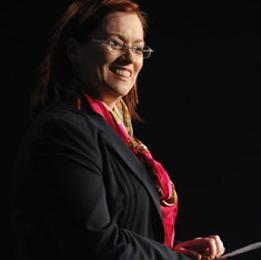 Nicole Lander - Laser Skirmish founder