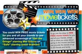 Movie tickets CTA example