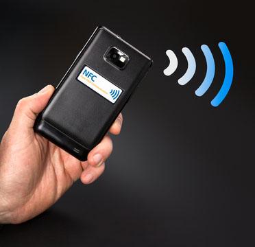 phone emitting information