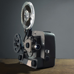 old style film camera