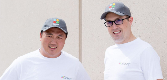 Roland Tam and Mike Rosenbaum, Co-founders of Spacer