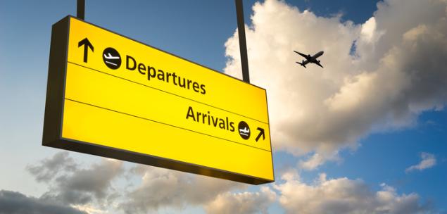 departure arrival
