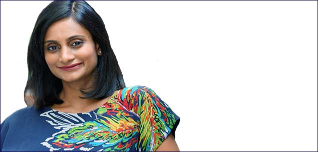 MinaRadhakrishnanis co-founder of prop tech :Different