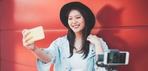 social media brand marketing Instagram influencer for small business