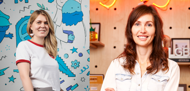 women in business for international women's day, from Lenovo and Airbnb