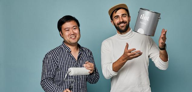paint business Tint co-founders Rocky Liang & Djordje (DJ) Dikic