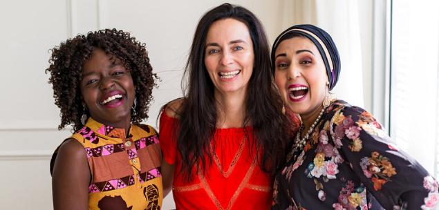 female entrepreneur, social Mandy Richards & Global Sisters business women