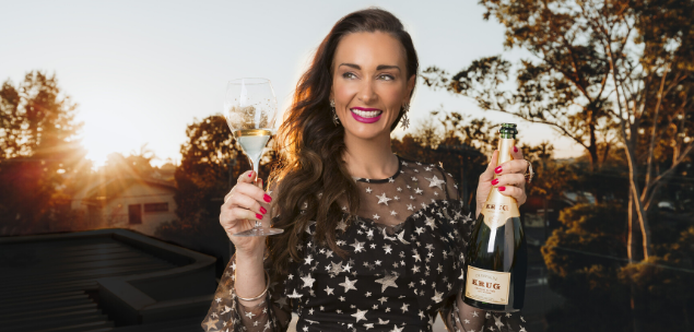 Kyla Kirkpatrick, CEO and founder of The Champagne Dame and Emperor Champagne.
