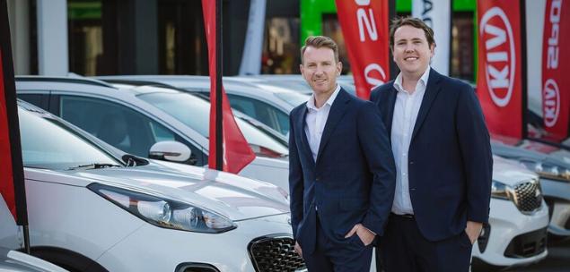 Paul Higgins and Michael Higgins, founders of Blinker, car subscription service