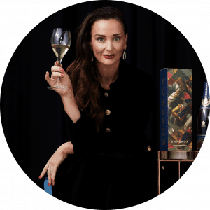 Kyla Kirkpatrick, CEO and founder of Emperor Champagne, The Champagne Dame