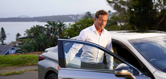 Mark Bouris, entrepreneur, has partner with Lexus, to deliver a small business mentored grant