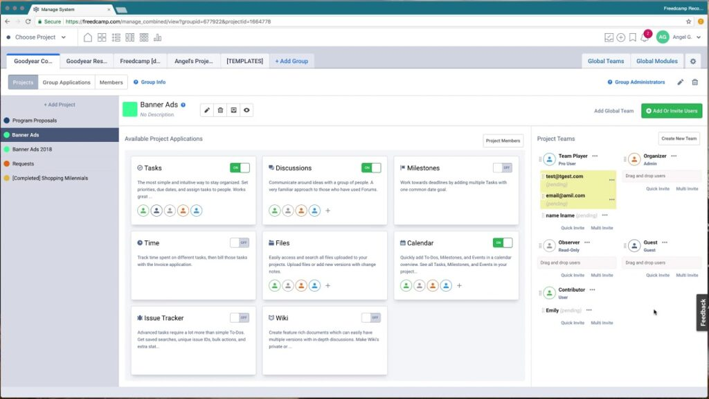 Feed - A Project Management Tool