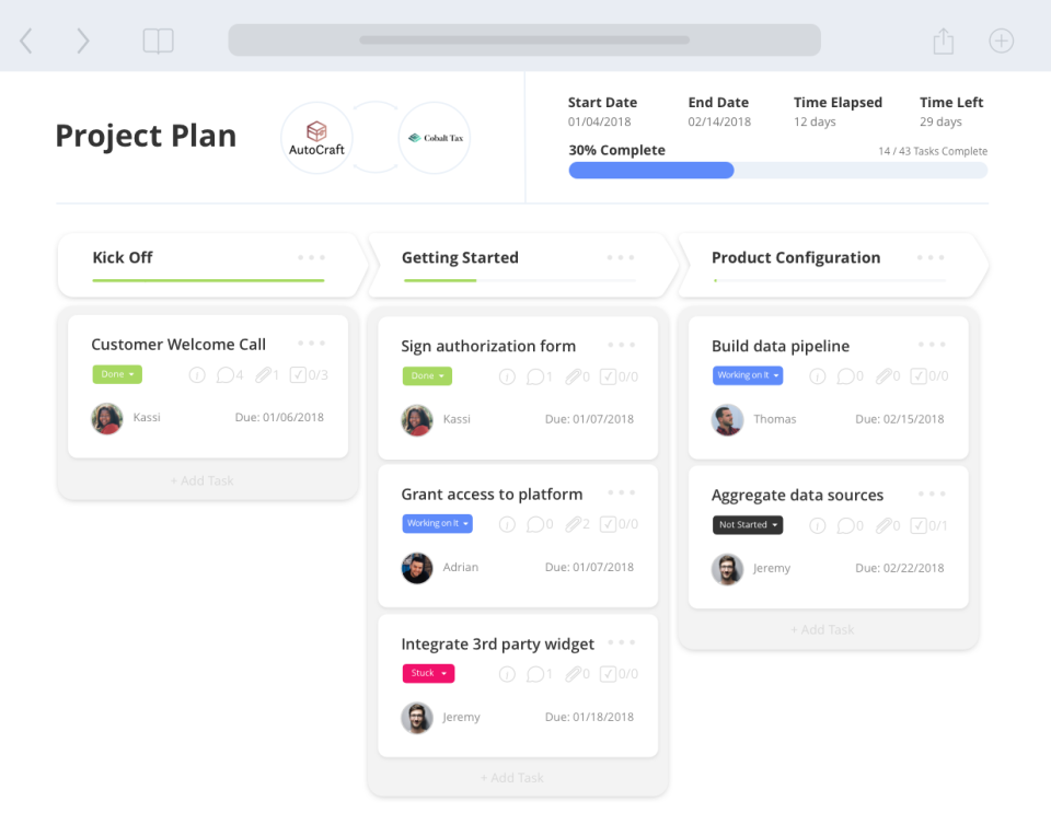 Best Cient Onboarding Tool - GuideCx