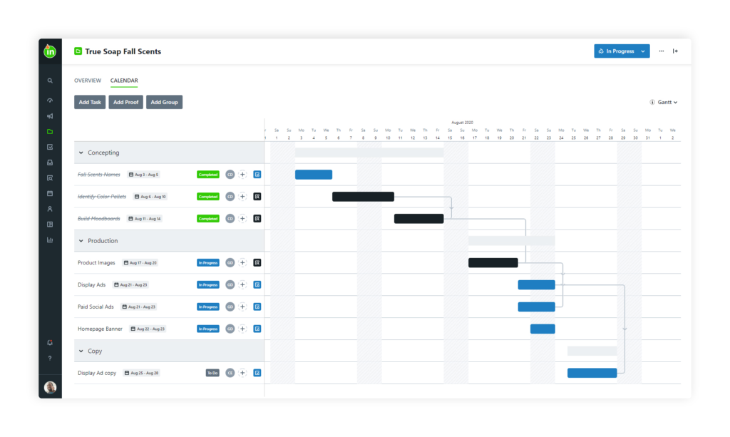 Creative Project Management Software  = inMotion