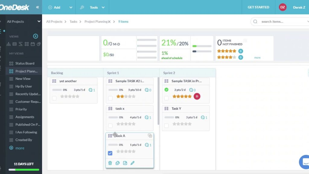 Project Management Software Solution - OneDesk