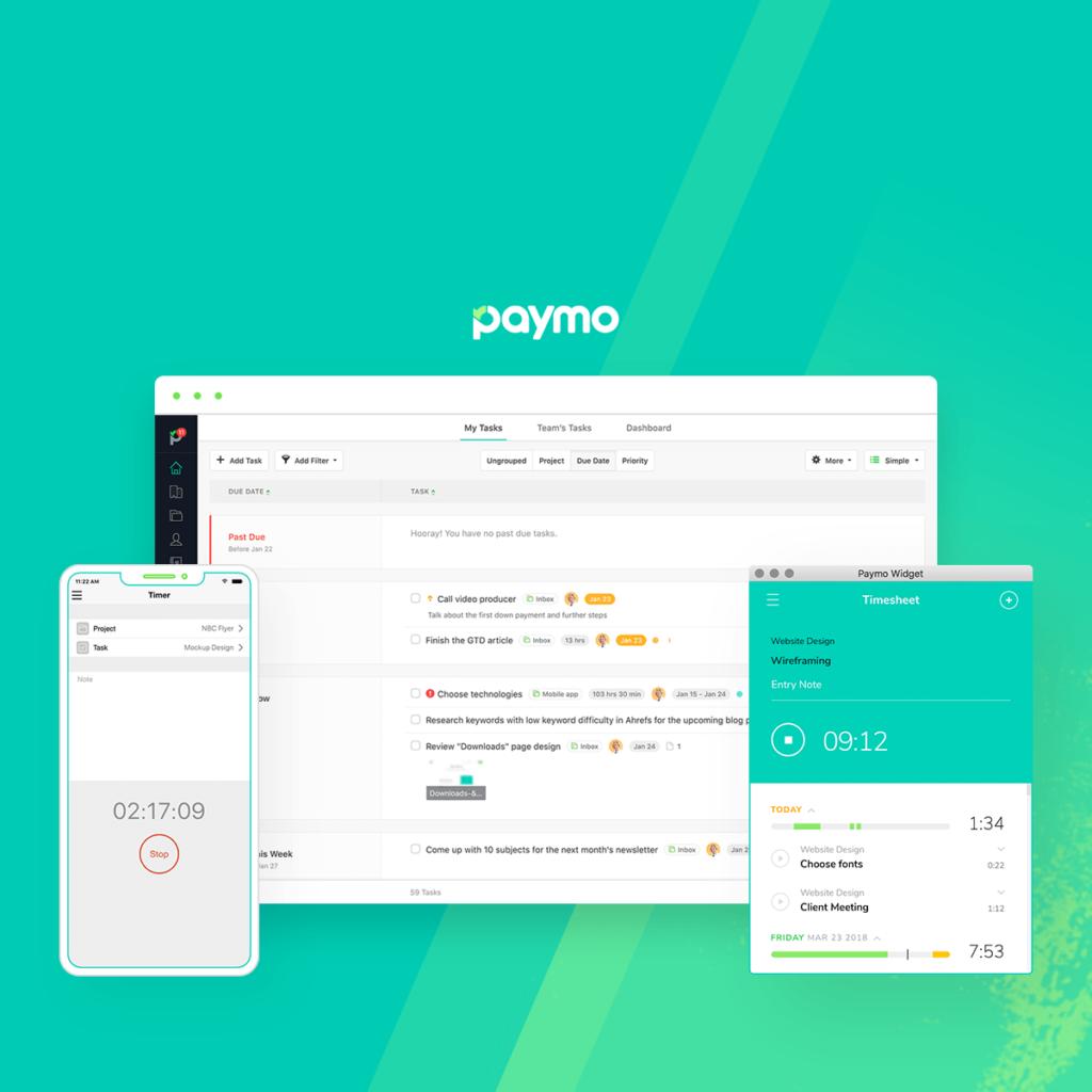 Work Management Software -  Paymo