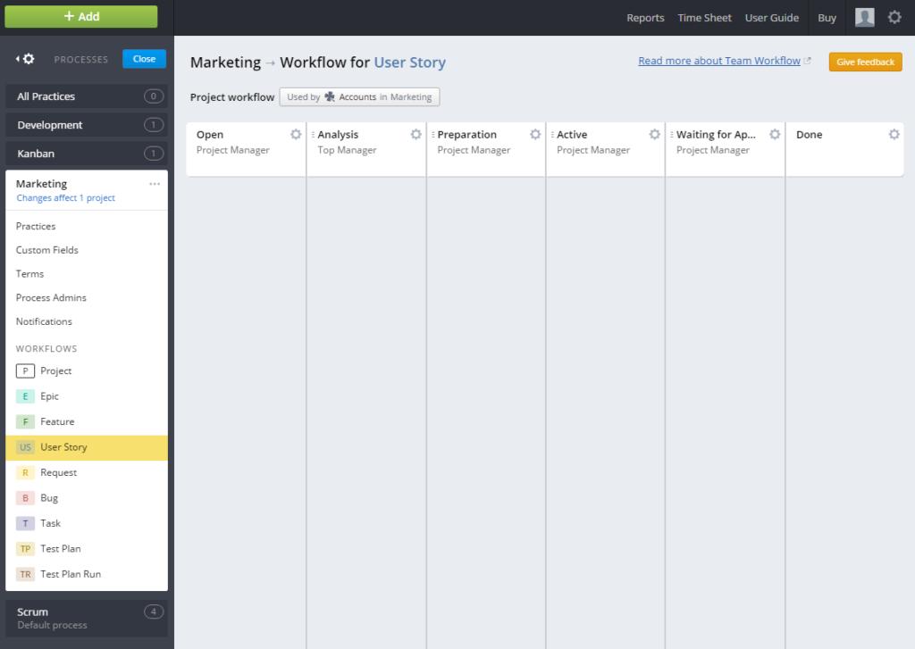 Visual Project Management Software - Targetprocess